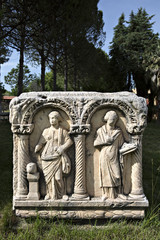 Tomb in Aphrodisias, Aydin