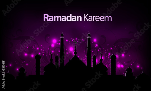 Vector Ramadan Kareem background