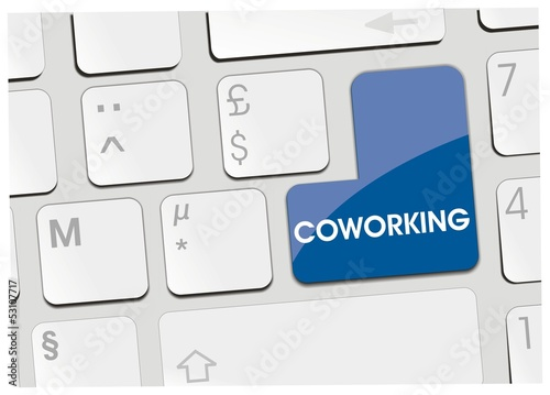 clavier coworking