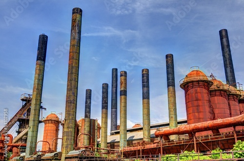 Factory Smoke Stacks