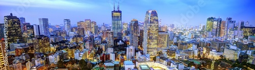 Fotobehang Tokyo Panorama of Tokyo