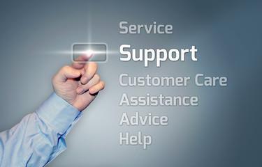 "Virtual Touchscreen ""Support"""