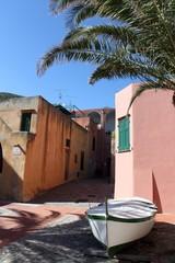 Varigotti, colorful village in Liguria, Italy