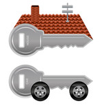 House and car keys
