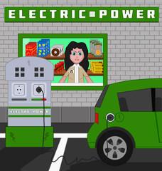 Plug-in hybrid car recharging