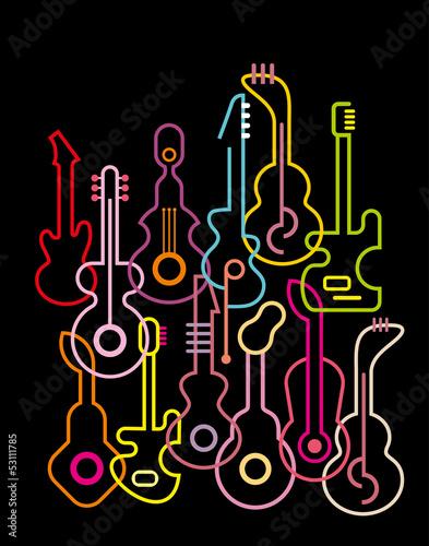 gitary-ilustracji-wektorowych