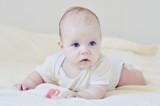 blue eyed baby