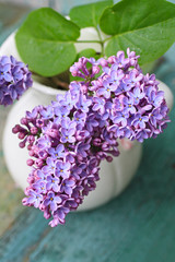 Lovely lilac in the vintage vase