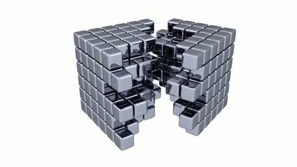 3D Cubes - Assembly