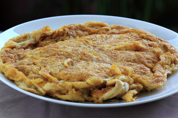 Omlet Thai Style