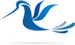 logo bird flying