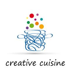 Vector logo Creative Cuisine