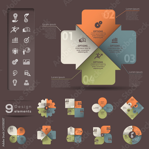 Infographic Element template