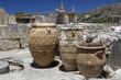 Obrazy na płótnie, fototapety, zdjęcia, fotoobrazy drukowane : Clay jars at Knossos palace