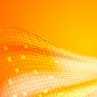 Abstract orange tiles