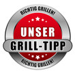5 Star Button rot UNSER GRILL-TIP RG RG