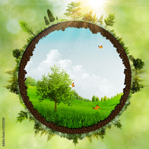 Dreamland, abstract environmental backgrounds