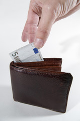 take the euro bill