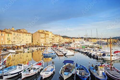 Fotobehang Poort Saint Tropez