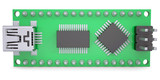 Computer board with chips and USB output poster