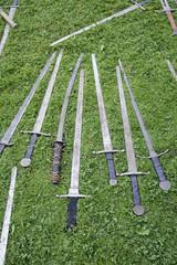 Ancient medieval swords