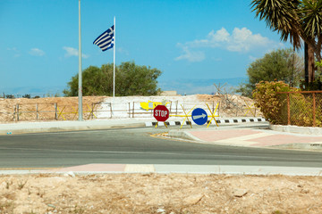 state border between North and South Cyprus