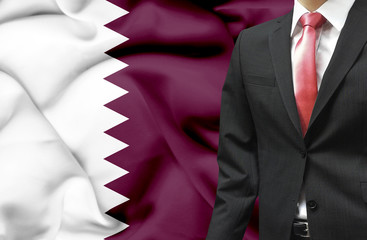 Businessman from Qatar conceptual image