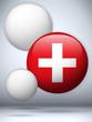 Switzerland Flag Glossy Button