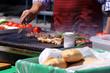 kebab grill street food