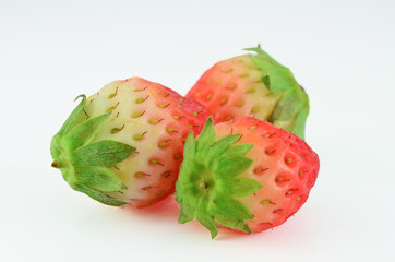 Fresh strawberry isolated
