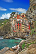 pictorial Ligurian coast of Italy - Riomagiore