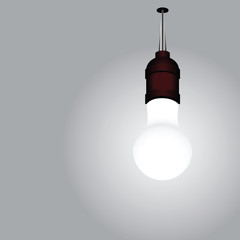 Included light bulb