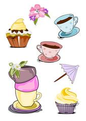 Icon für  Kaffee, Tee, Muffin