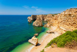 Marinha Beach in Algarve Portugal