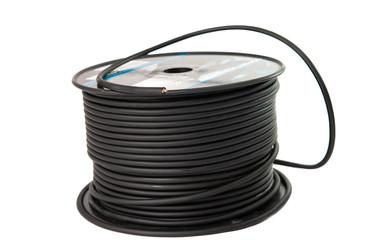 hank of black wire
