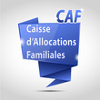 bulle origami cs5 : caisse d'allocations familiales