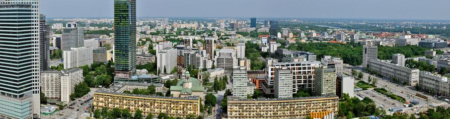 Warszawa - Stitched Panorama