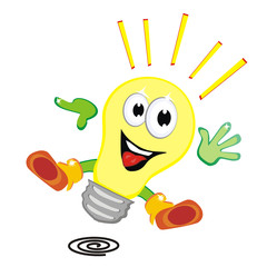 lampadina vector