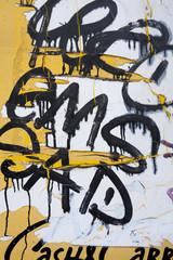 Graffiti on Sign in Copenhagen