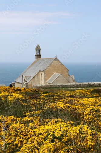 chapelle saint they,pointe du van,bretagne
