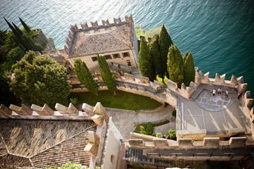 Panorama dal castello di Malcesine