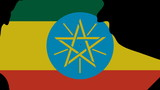 people shaking hands on Ethiopia map flag animation