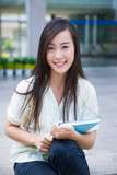 Chinese female college student