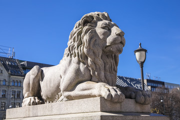 Statue of a lion