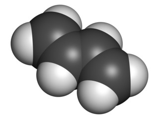 Butadiene (1,3-butadiene), the building block of ABS plastic and