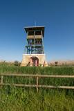 Birdwatching tower poster