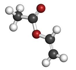 Vinyl acetate, polyvinyl acetate (PVA, PVAc) glue building block