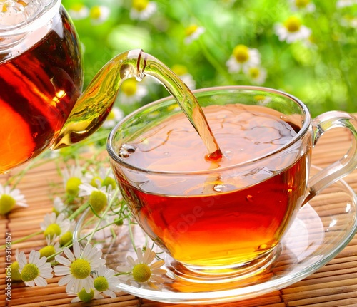Tuinposter Thee Black tea