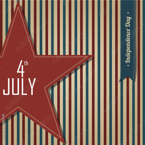 4th july star