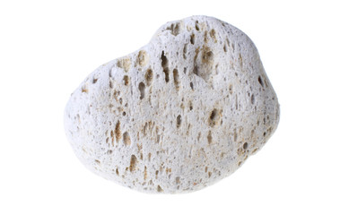 Pumice stone isolated